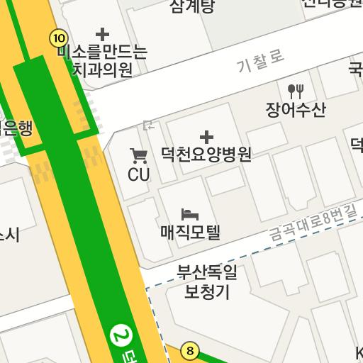 亀浦市場[クポシジャン]の地図(...